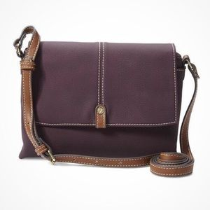 3bb6a2eb0c5a Laura Scott Mini Bag - Cross Body Bag - Wine